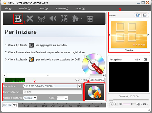 Xilisoft AVI to DVD Converter