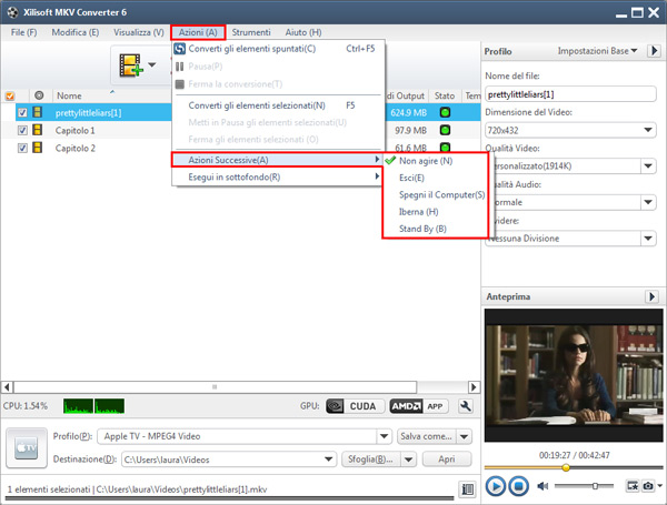 Come convertire file MKV facilmente